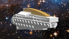 Pegasus Class Luxury Cruiser (EliteGuard01) Tags: lego space pegasus spaceship cruiser ldd legodigitaldesigner luxurycruiser pegasusclassluxurycruiser