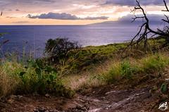 Westside Sunset 4.1.14 (airinnajera) Tags: ocean seascape beautiful clouds island hawaii nikon paradise waves gorgeous aaron maui tropical najera d5100