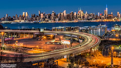 T W I L I G H T N E W Y O R K (kirit prajapati photography) Tags: new york newyork river newjersey esb hudsonriver lincolntunnel manhattanny bluehours empirstatebuilding bestskyline