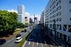 Sunny Thursday Morning (hidesax) Tags: street blue shadow sky urban japan clouds tokyo nikon raw cityscape arrows shinagawa hdr 5xp hidesax d800e may222014 sunnythursdaymorning