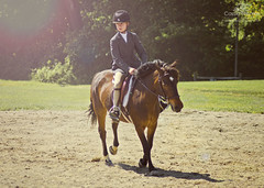 Warming Up (CassieThomasPhotography) Tags: sunlight pony horseshow photooftheday picoftheday girlonhorse beautifulchild horsephotos beautifulhorse horsephotography njphotographer njphotography