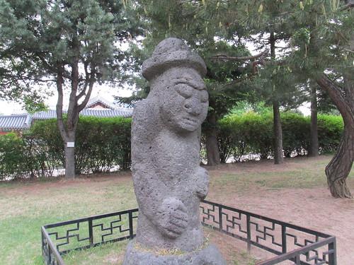 Statue à Séoul, Corée du Sud