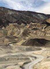 20 Mule Team Canyon || Death Valley (David Marriott - Sydney) Tags: furnacecreek california unitedstates us death valley 20 twenty mule team canyon windy winding road leading lines usa america nevada