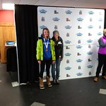 Teck U14 Provincials at Big White, Anna Dewynter and Kelsey Serwa 2017 PHOTO CREDIT: John Legg