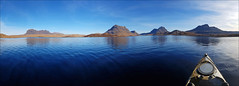 A great day out in the Highlands (McRusty) Tags: loch sionascaig suilven culmor blue sky canoe canoeing heaven sunny day beautiful natural outdoor highland assynt scotland culbeag stacpollaidh stack polly