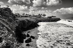 Bali, l'isola degli dei. Pura Tanah Lot temple. (paola ambrosecchia) Tags: landscape sea clouds asia bali beautiful amazing travel light blackandwhite monochrome