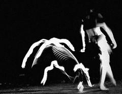 La Loba - The Wolf (♥ expressing emotions ♥) Tags: loba huesera wolf woman mujeres animals ancient dance danza monocromatico bw