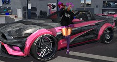 Uber Drift 6 (Ashley Densu) Tags: prostreet streetracing pkd prettykittydesigns erratic tsg thesugargarden tokyo japanise kawaii pink neko evermore vista bento catwa catya sweetthings cheshirecat goddess kittygoddess secondlife raw rawphotography furiousracing dub garage cars 3d 3dphotography 3dart