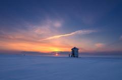 Wyszatyce (Mirek Pruchnicki) Tags: żurawica województwopodkarpackie polska chapel samyang14f28 landscape winter sun sunset