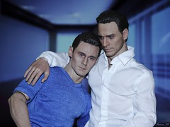 Once again taboo becomes your law (Anna_Mai) Tags: actionfigures onesixscale tomhiddleston michaelfassbender