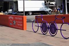 Curb Side Bites & Bike Rack