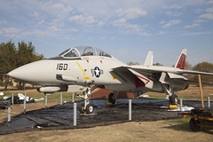 164401_F-14D_AF160_KMER_1051 (Mike: Time Off, Back Shortly) Tags: grumman f14d tomcat ad160 vf101 mer kmer castleairmuseum atwater california californiastate us usa america