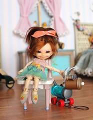 Pansy's Shoes (Desertmountainbear) Tags: realpukisoso fairylanddoll tiny bjd desertmountaindoll fairy elf dollclothing