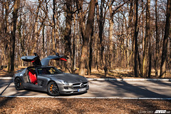 Mercedes-Benz SLS AMG. (Stefan Sobot) Tags: mercedes benz sls amg bud3net