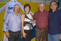 Raimundo Martins, Ilsa Galvão, Targino Pereira e Marcelo Queiroz
