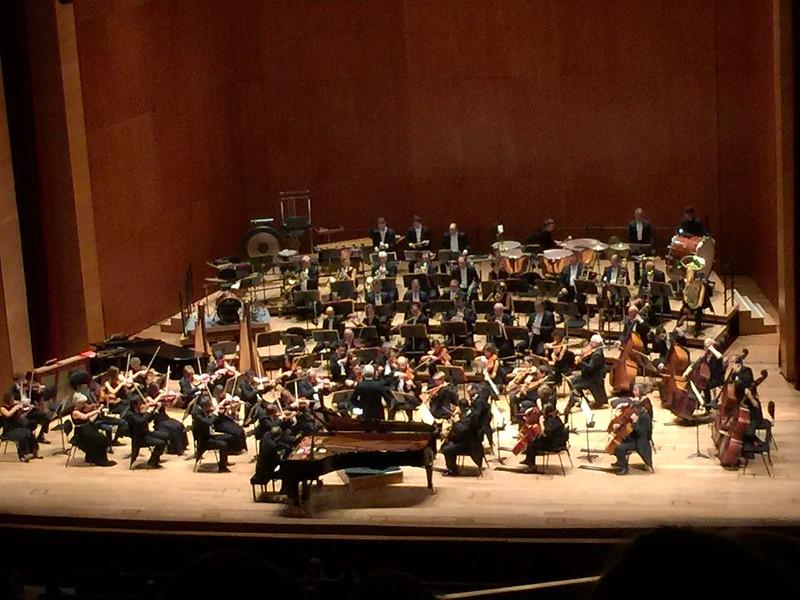 Excursión concierto Euskalduna Bilbao 2016