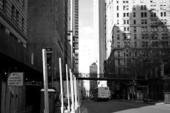 Refocusing (alexbogrand) Tags: ny newyork downtown street 35mm d3200 nikon monochrome blackandwhite city road urban buildings manhattan wtc f18 focus blurry lines