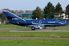 G-FRAI | Dassault Falcon 20 | Cobham Aviation (JRC - Bourneavia) Tags: gfrai dassaultfalcon20 dassault dassaultfalcon falcon20 boh eghh bournemouthairport hurnairport cobham cobhamaviation