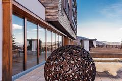 Hotelkunst (ThiloG) Tags: alphotel hirschegg hufeisen kunst terasse nikond5000 nikoncorporation