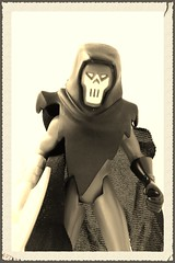 Fear me (spikeybwoy - Chris Kemp) Tags: sepia actionfigure dc noir batman oldphoto phantasm roguesgallery