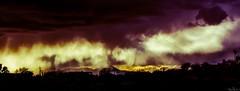 Purple Rain (trevoclark) Tags: arizona sun storm rain yellow purple desert tucson rays