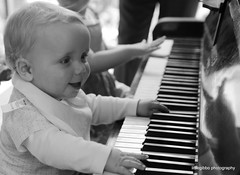piano fun (littlegibbo) Tags: family friends portrait people smile happy person celebration christening basingstoke christning