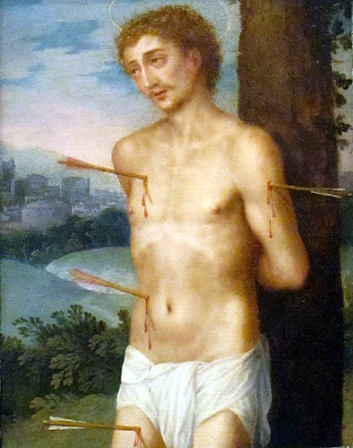 Sanchez Cotan, Juan (1560c.-1627) - 1600s Saint Sebastian (San Diego Museum of Art, California, USA)