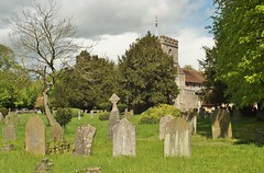 St.Mary's. (dlanor smada) Tags: uk england chilterns churches gb bucks gravestones churchyards anglican wendover