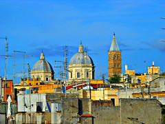 i tetti dal quartiere Monti (blu69) Tags: santa house roma open maria tetti chiesa campanile maggiore monti quartiere 2013