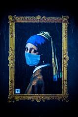 la Perla. (RO.BO.COOP.) Tags: streetart pasteup wall smog pearl vermeer henryviii pearlearring vialibetta robocoop orecchinodiperla streetartrome streetartroma smogproject romabolognacooperazione