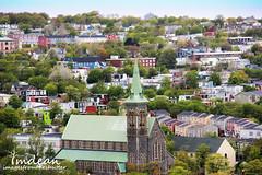 A view from a lookout... (Tina Dean) Tags: church colors downtown stjohns atlanticcanada newfoundlandandlabrador imagesfromtheshutter tmdean tinamdean