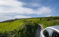 Single-track Road in Boswinger - Cornwall, England, UK (Paul Diming) Tags: uk greatbritain england landscape spring cornwall unitedkingdom singletrackroad cornwallengland boswinger d7000 pauldiming boswingerengland