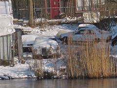 1966 MERCEDES-BENZ W114 250 SE Automatic (ClassicsOnTheStreet) Tags: snow se sneeuw 1966 mercedesbenz automatic neige 250 w114 dr5789