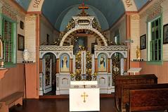 Gatineau Quebec - Canadian Museum of Civilization - Saint Onuphrius Ukranian Catholic Church interior. (edk7) Tags: old sculpture c