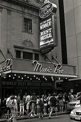 NYC Theater district (ASdeVera) Tags: show nyc theater pentax district broadway d76 spotmatic tmax400 sp1000