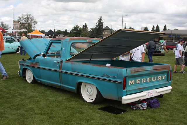 ford truck mercury pickup canadian 1968 custom