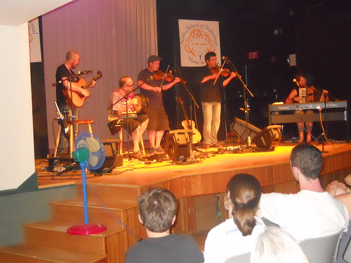 Acadia Trad School Concert July 20143.  Ryan McGiver, Albert Alfonso, Troy MacGillivray, Pascal Miousse, Pastelle LeBlanc