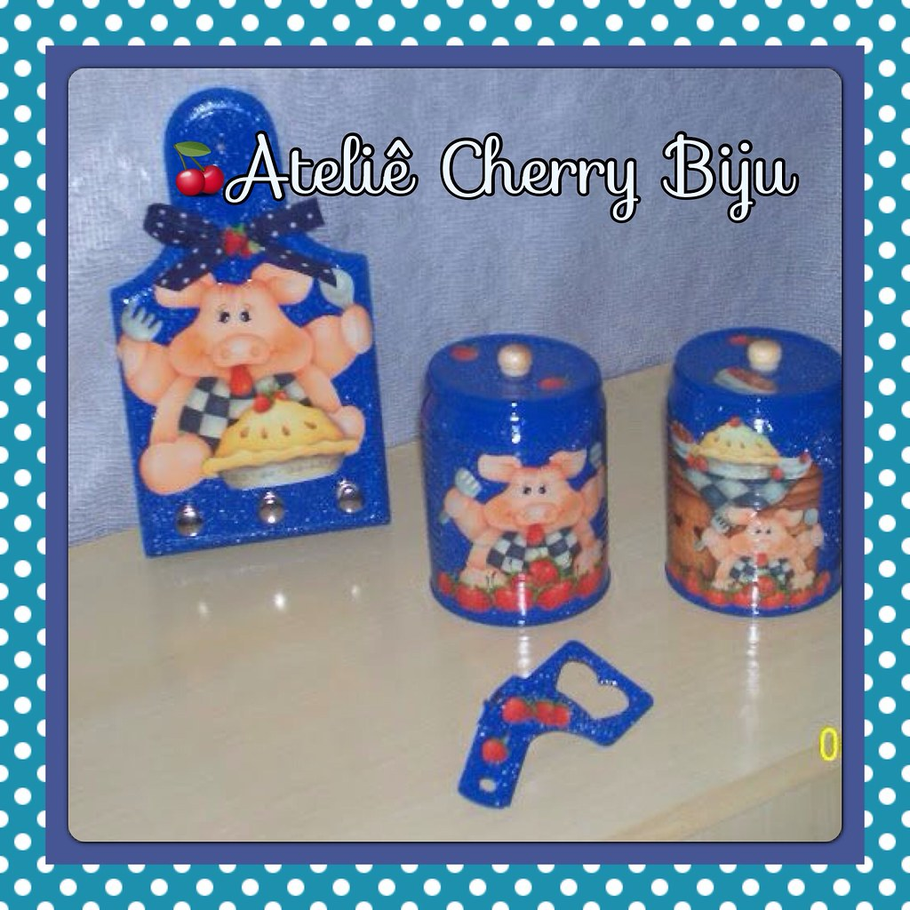 Biju (ateliecherrybiju) Tags: artesanato biscuit reciclagem madeira  #1E8EAD 1024x1024
