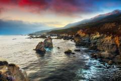 Garrapata Sunset (Eddie 11uisma) Tags: california coast landscapes monterey big seascapes central carmel sur eddie lluisma
