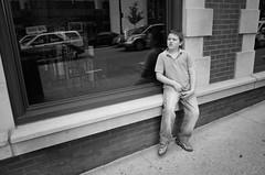 Lude (animefx) Tags: street city bw chicago illinois funny child crotch ricohgr 28mmf28 lude ricohgrv