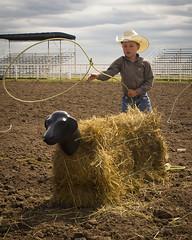 Lariat (Sam Stukel) Tags: rodeo lariat roper roping lasso littlecowboy kidsrodeo