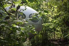 UFO cottage (tech8 nor) Tags: norway architecture 60s cottage ufo retro futuristic larvik finnishdesign futurohouse 60sdesign nevlunghavn mattisuuronen ufocottage futurodesign