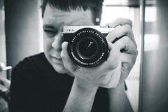 New Camera Fuji X-E1 (MatthewKillington) Tags: photography fuji matthew f 28 1855 killington f28 iso320 18mm selfie xe1