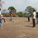 Playing futbol after riding horses to the indigenous village - Honduras cross-cultural