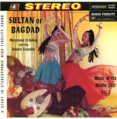 Sultan Of Bagdad (Jim Ed Blanchard) Tags: world music armpit vintage weird store dance funny finger album iraq vinyl east belly novelty jacket thrift cover ugly lp record sultan turban middle sleeve cymbals bagdad kooky sterotype