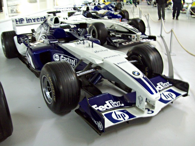williams racing british 2000s