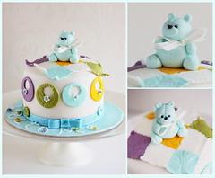 (kdjokova) Tags: bear baby cake teddy newborn