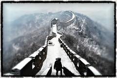 Great Wall (dim-22) Tags: china snow wall grande great neve cina muraglia