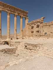 Palmira  LIV: The Temple of Bel (egisto.sani) Tags: roman romano empire di syria palmyra palmira siria impero temple bel tetrapolis tempio
