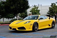 Ferrari 430 Scuderia (MMLAurelius Images) Tags: california morning black cars coffee car speed nissan rally ferrari cc event porsche strike trophy gt quick motorsports platinum meet irvine tesla carrera gtr targa worldcars l4p lifestype luxary4play